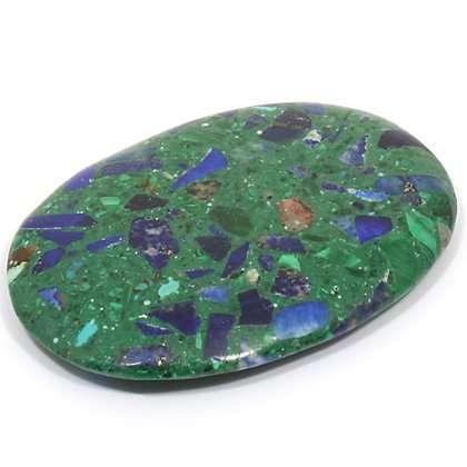 Asemblage parcollage de lapis-lazuli et malachite