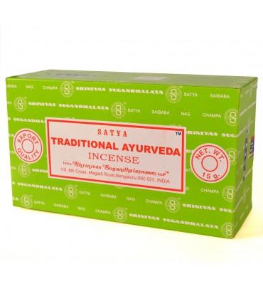 Ayurveda traditional incense satya 15 gr new