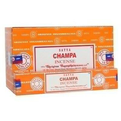 Box of 12 champa incense satya sticks