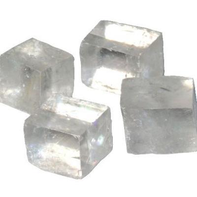 Calcite optique brute mexique