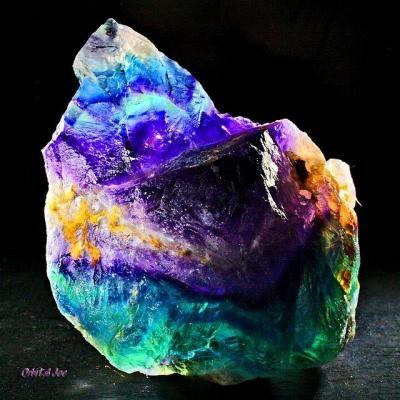 Have a nice day and enjoy this stunning rainbow fluorite