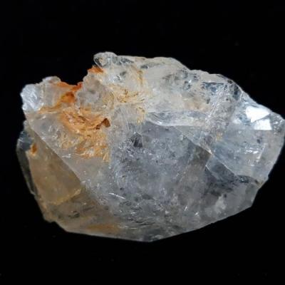 Herkimer diamant met citrien ruw 1