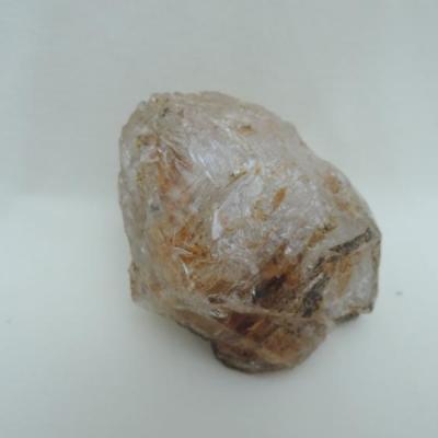 Herkimer diamant met citrien ruw