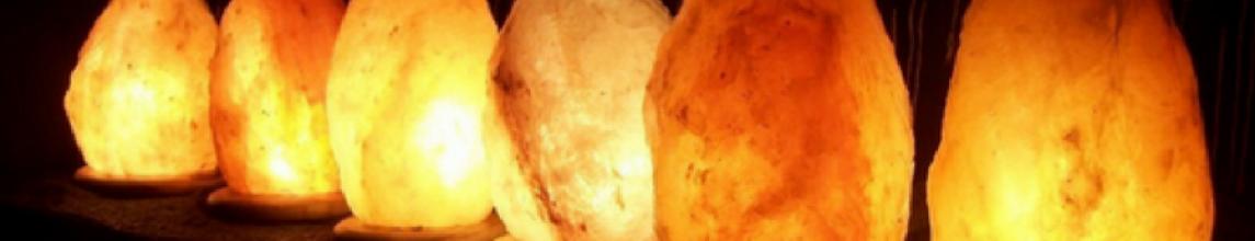 Lampes de sel himalaya