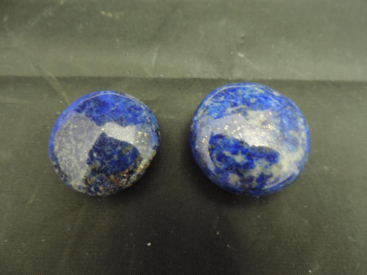 Lapis lazuli rond nieuw