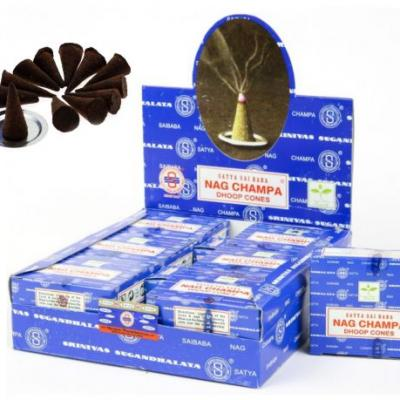 Nagchampadhoop cones 2