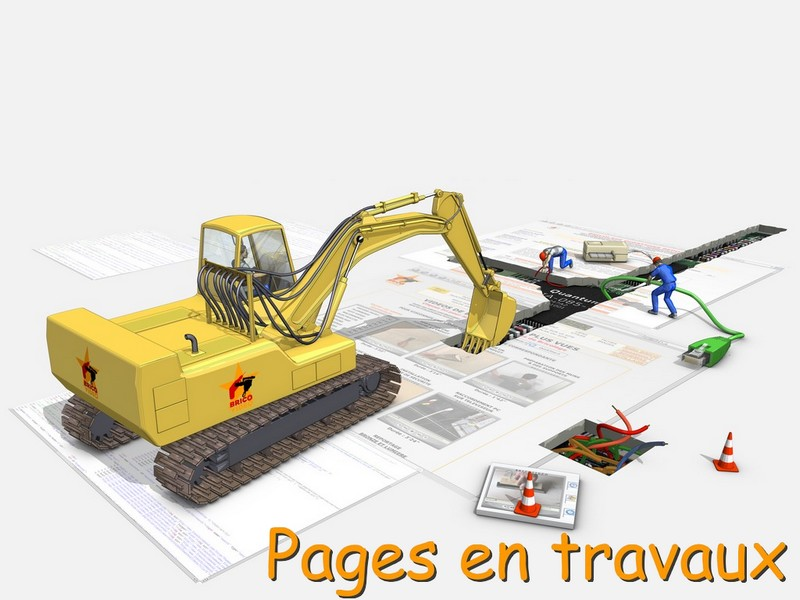 Pages en travaux