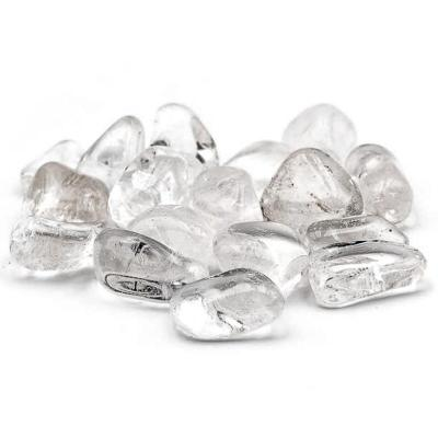 Pierre roulee de cristal de roche