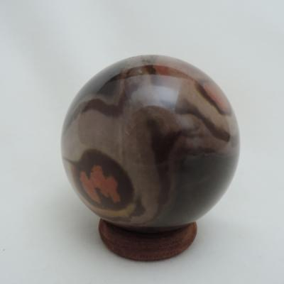 Polychroom jaspis 6 cm