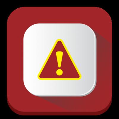 Problem icon icons com 54975