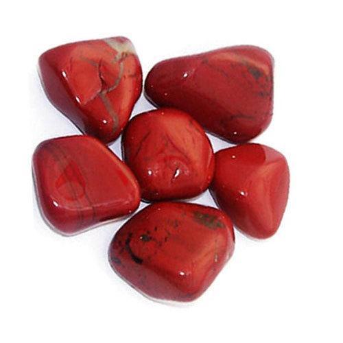 Red jasper tumbled pebbles 500x500