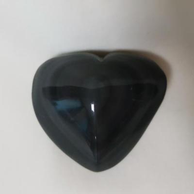 Regenboog obsidiaan 7 cm nieuw