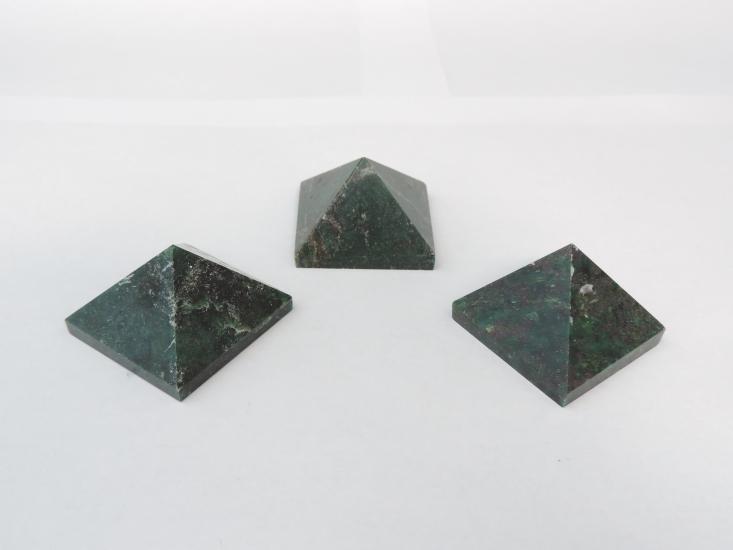 Robijn in smaragd 35 cm