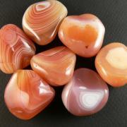 Sardonyx pierres roulees
