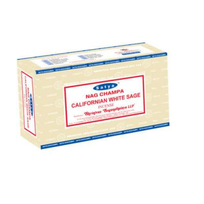 Satya californian white sage incense sticks 500x500