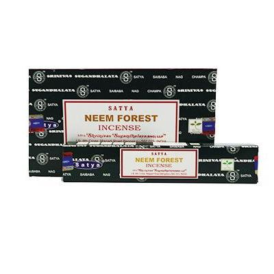 Satya neem forest incense pack