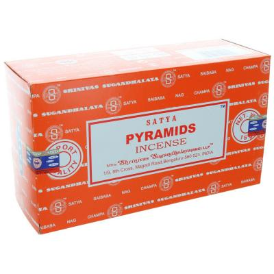 Satya pyramids box 12