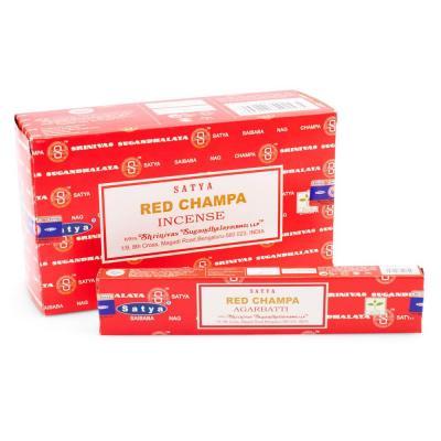 Satya red champa raeucherstaebchen