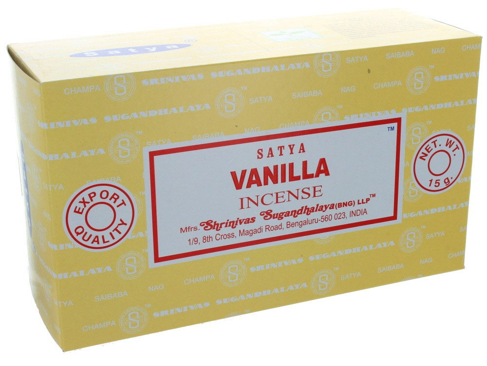 Satya vanilla box 12