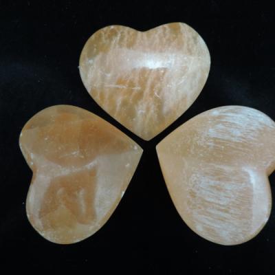 Seleniet hart oranje groot