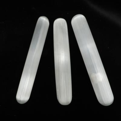 Seleniet massage griffel wit rond