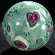 Sphere rubis coeur 1