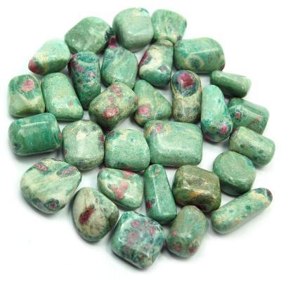 Tumbled ruby in fuchsite india tumbled stones 05