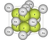 Formule chimique de la fluorite