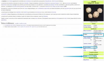 Wikipedia leucite