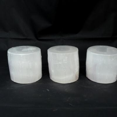 Witte seleniet cilinder