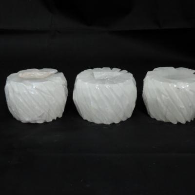 Witte seleniet gezaagd