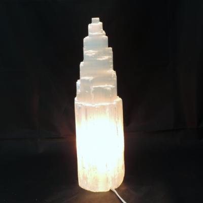 Witte seleniet lamp rots 1