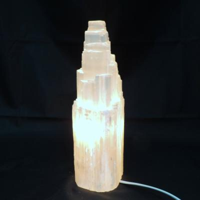 Witte seleniet lamp rots nieuw 1