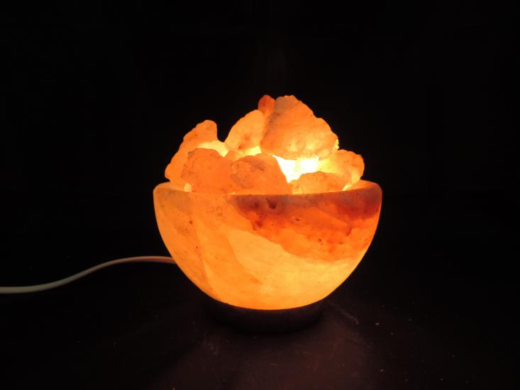 Zoutlamp schaal klein 2 3 kg