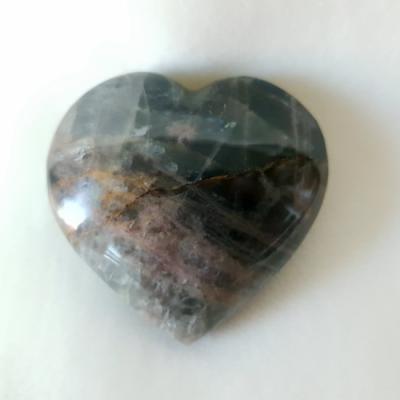 Zwarte maansteen 55 cm nieuw