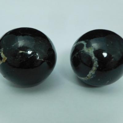 Zwarte toermalijn 35 cm